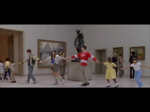 John Hughes commentary  The Museum  from Ferris Bueller's Day Off