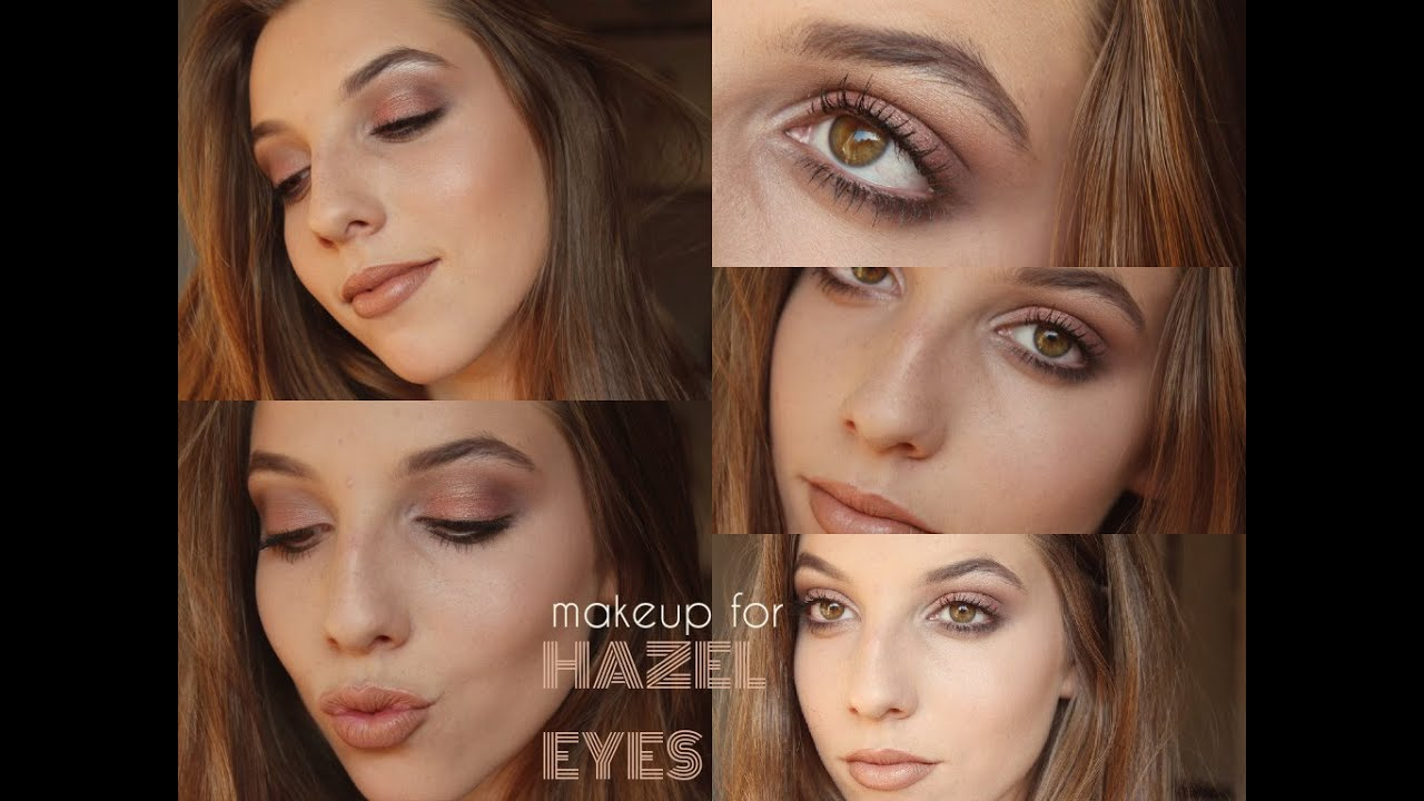 how to: make hazel eyes pop & ootd | morgan cohen