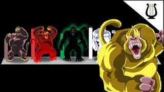 Todos los tipos de Ozaru, del mas débil al mas Poderoso - Dragon Ball Super