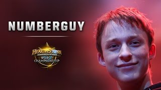 Hearthstone Europe Championship 2014 - NumberGuy Interview