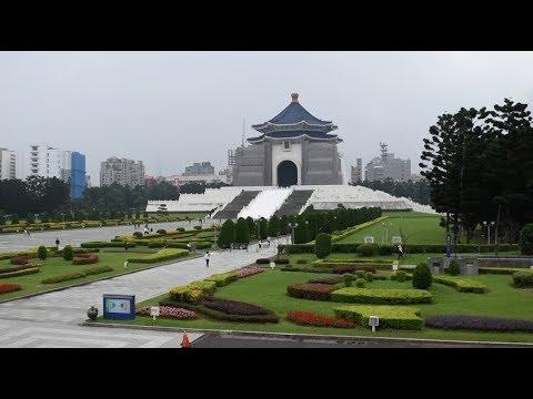 Taipei, Taiwan - Chiang Kai-shek Memorial Hall & Park Full Tour HD (2017)