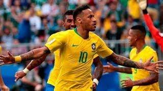 Brasil vs México 2-0 Narracion TV AZTECA | Mundial Rusia 2018