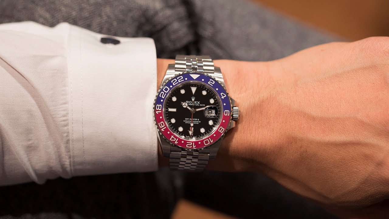 1cc4735be60 First Take: The Rolex GMT-Master II In Stainless Steel - YouTube