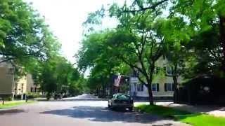 driving into downtown salem ma