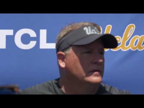 UCLA Football Press Conference - Chip Kelly 04.21.18