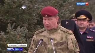 Виктор Золотов и Рамзан Кадыров заложили капсулы под строительство храмового комплекса