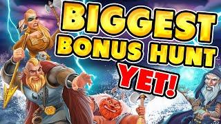 😲 BIGGEST BONUS HUNT YET! BIG ONLINE CASINO WIN on a £850 START !