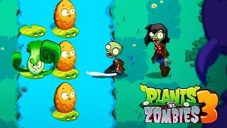 Plants vs Zombies 3 - Gameplay Walkthough Levels 25-30 New Plant Lily Pad & Ducky Tube Zombies
