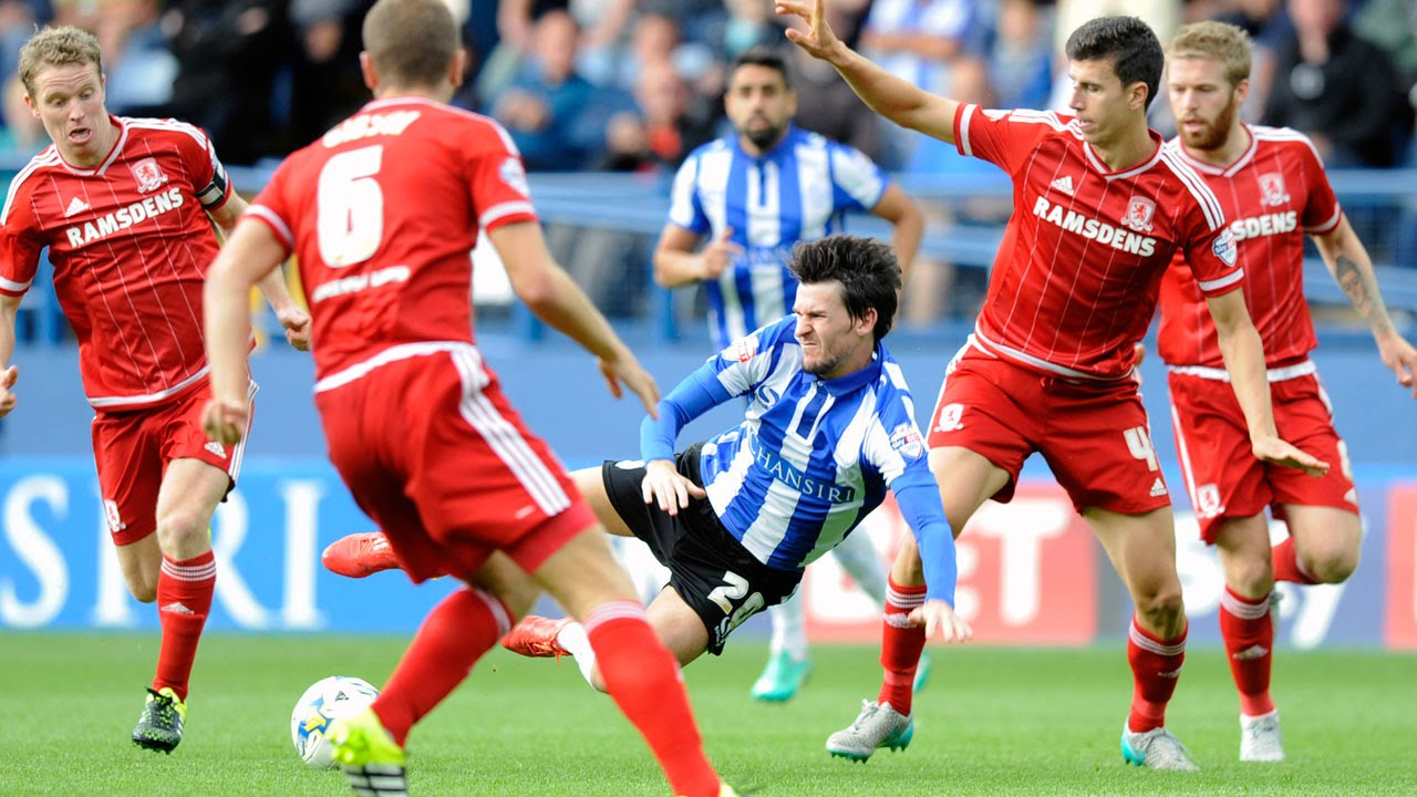 Sheffield Wednesday 1 Middlesbrough 3   EXTENDED HIGHLIGHTS 2015/16 -  YouTube