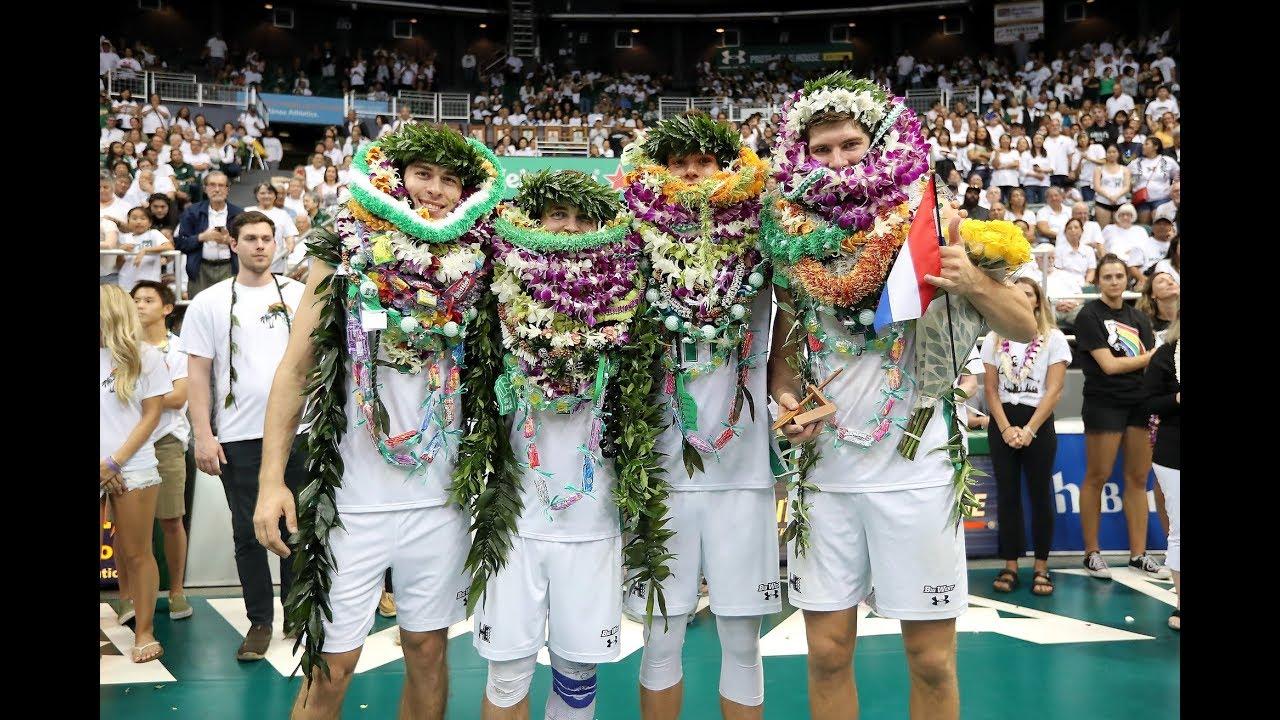 Hawaii Warrior Men's Volleyball 2019 - Rematch: #1 Hawaii ...