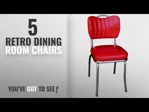 Top 10 Retro Dining Room Chairs [2018]: Richardson Seating 4260CIR Handle Back Retro Kitchen Chair