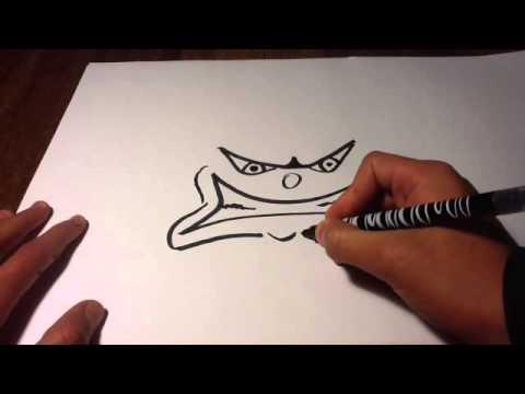 Tutoriel dessin faire un visage furieux dessiner col re - Faire ses propres stickers muraux ...