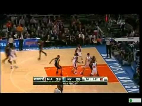 New York Knicks vs Miami Heat (NBA 2010-11 Reg. season) 1 di 2