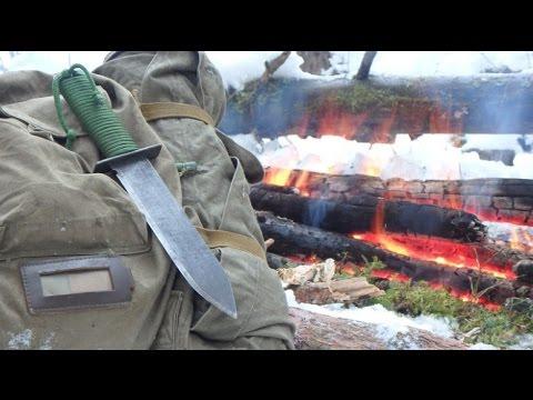 Самодельный Лесной нож от Чернолесья