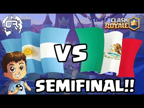 CR WORLDS | ARGENTINA VS MEXICO | SEMIFINAL !!