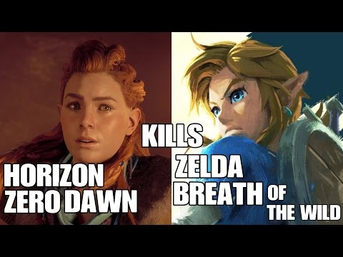 Horizon Zero Dawn Kills The Legend of Zelda Breath of The Wild
