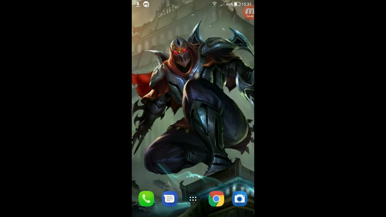Wallpaper Animado League Of Legends No Android Youtube