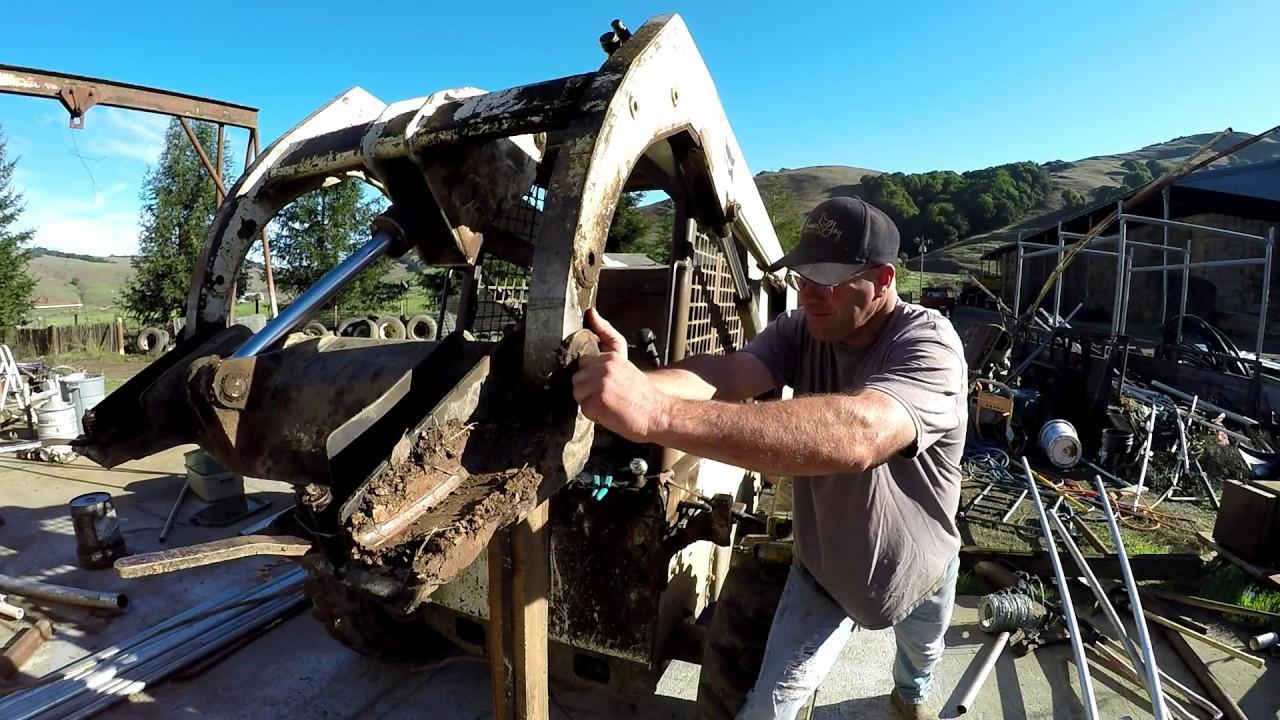 Skid Steer Pin Removal and Repair