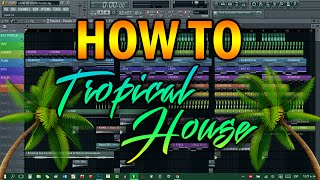 COMO HACER TROPICAL HOUSE
