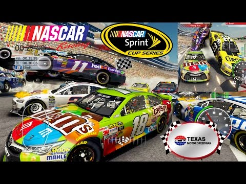 Nascar'15 The Game: Texas Motor Speedway Cars in the Air Best Extreme Longer Crash Compilation 3