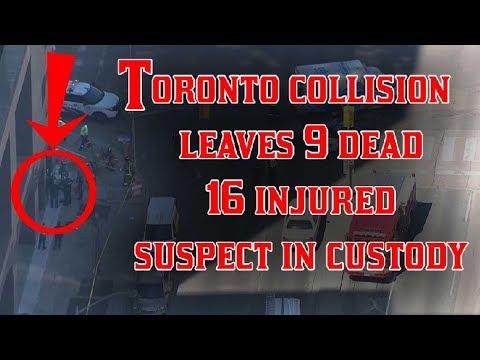 Full report on toronto attack - toronto van attack toronto van pedestrians toronto terrorist attack