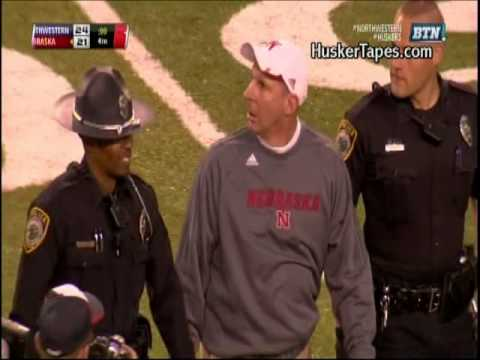 Nebraska vs Northwestern Hail Mary with Radio Audio from both teams