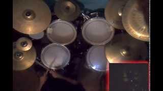 Cover de bateria del tema de Stratovarius Learning To Fly del disco...