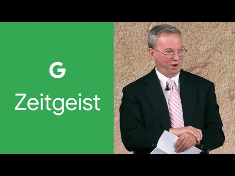 Eric Schmidt - The Future Of The Way We Live, Love And Work - Clip