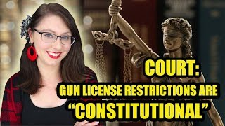 Court Rules Gun License Restrictions Are