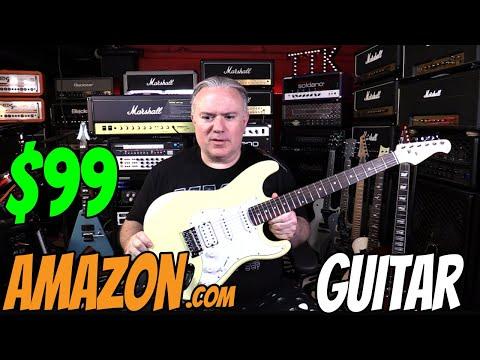 $99 Amazon.com Guitar - Demo & Review