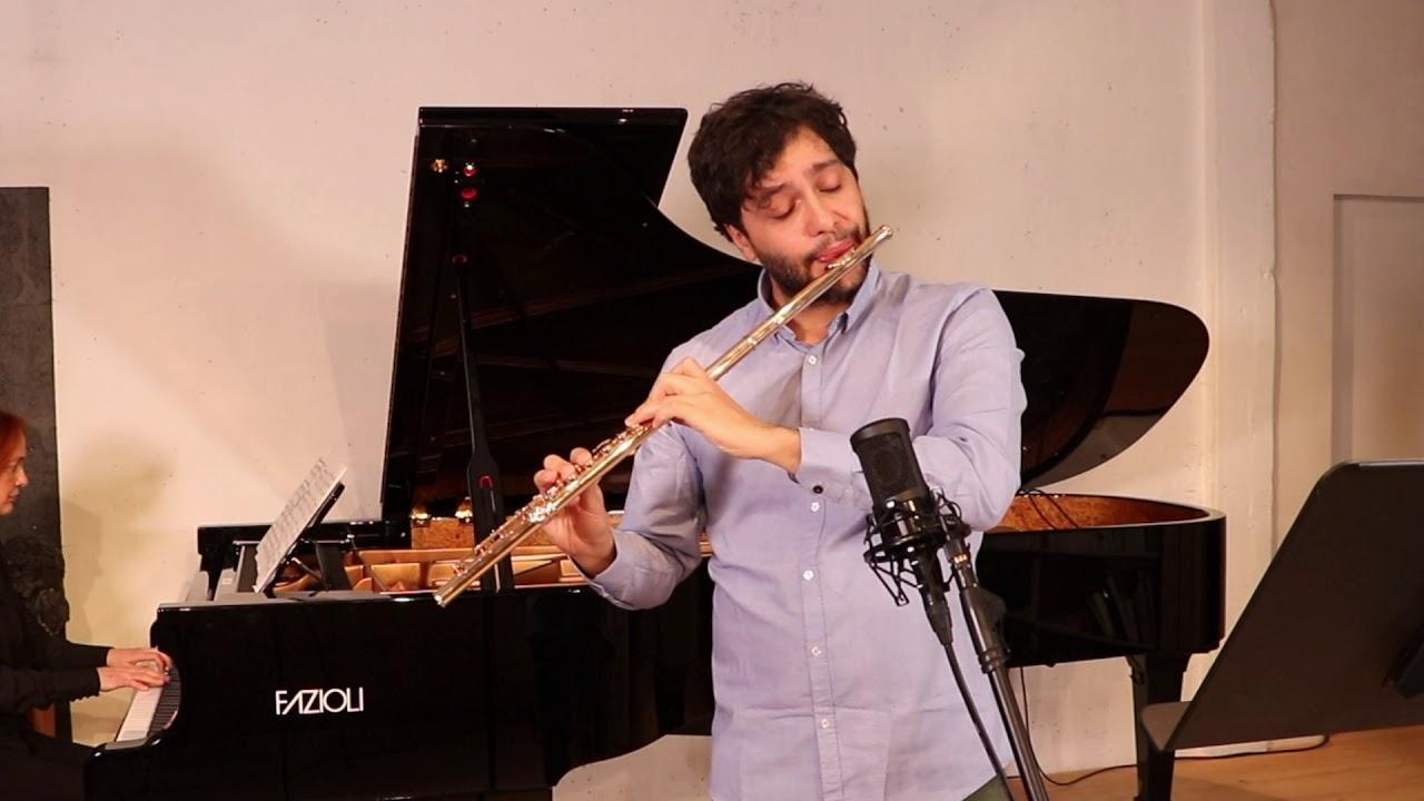 "TCHAIKOVSKY ""Lenski's Aria"" from Eugene Onegin   Gianluca Campo : Flute, Claire Pasquier: Piano"