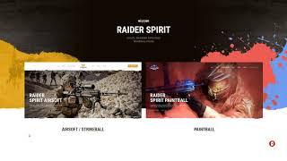 Raider Spirit Airsoft Club amp Paintball WordPress Theme