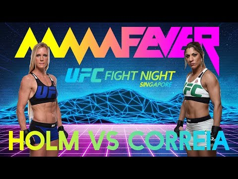 UFC Fight Night Singapore - Holm Vs Correia - Main Event Recap