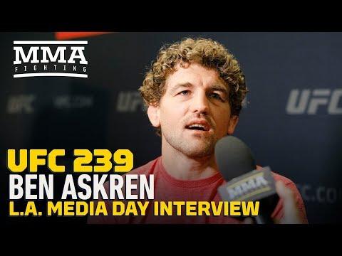 UFC 239: Ben Askren Says He's 'Very Far' in Jorge Masvidal's Head And Under His Skin - MMA Fighting