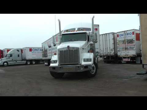 Ontario Truck Driving School Video 2015