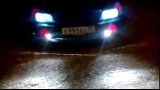 Линзованные ПТФ Nissan Maxima A32