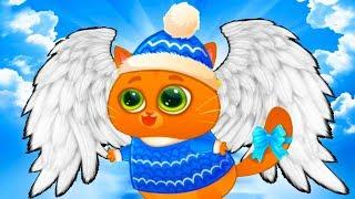 КОТЕНОК БУБУ #71 мультфильм про котиков новое обновление Рождество и Новый Год смешной кот ПУРУМЧАТА