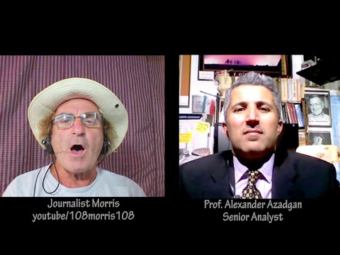 Prof. Azadgan on Journalist Morris's Show: Geopolitics of West Asia & Beyond