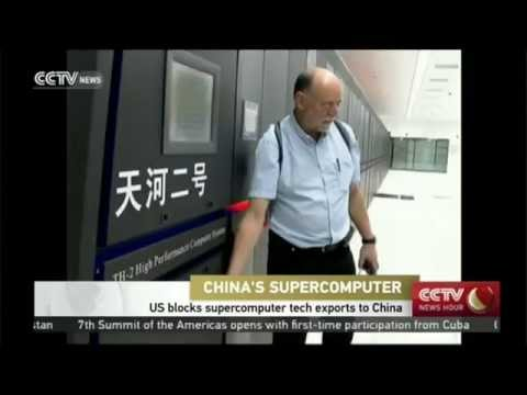 US Blocks China From Updating The World's Largest Supercomputer