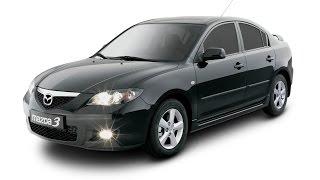 Замена лобового стекла на Mazda 3 в Казани.