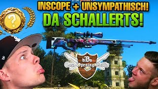 CS:GO CASE OPENING BATTLE #19 - ÜBERSTEUERUNG IT IN MAN! ft. Inscope und UnsympathischTV