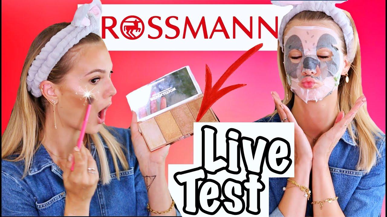 BESTER DROGERIE HIGHLIGHTER! 😍 ROSSMANN EIGENMAKREN im LIVE TEST I Cindy Jane