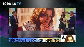El llanto de Sergio Lapegüe tras la muerte de Débora Pére...