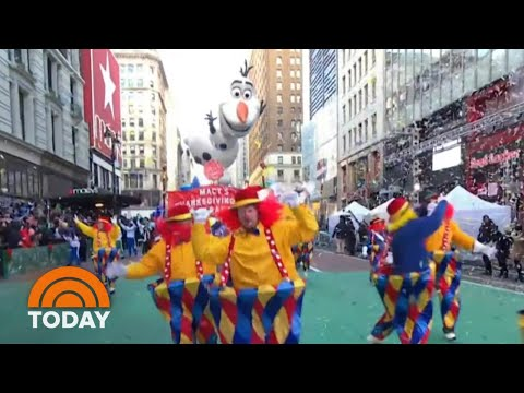 Go Behind The Scenes Of The 2018 Macy's Thanksgiving Day Parade | TODAY