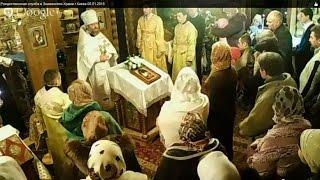 Рождественская служба в Знаменском Храме г.Киева 06.01.2015(, 2015-01-07T01:53:49.000Z)