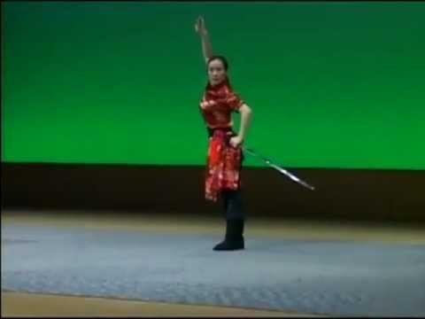 exhibicion de espada jian exhibition master song li youtube