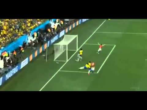 Marcelo OwnGoal Brazil vs Croatia 0 1 World Cup 2014