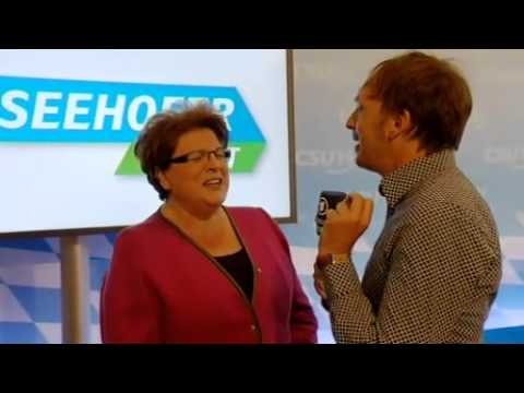 Bayerische Landtagspräsidentin Barbara Stamm benimmt sich unmöglich - Interview