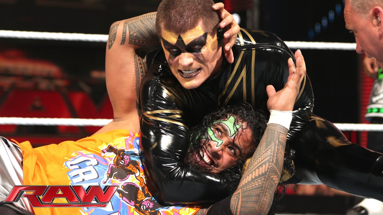 The usos vs gold amp stardust wwe tag team championship match raw