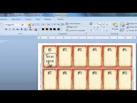 52 reasons i love you powerpoint tutorial youtube for 52 reasons why i love you cards templates free